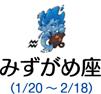 みずがめ座(1/20~2/18)